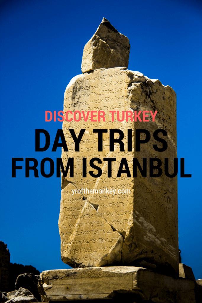 Day trips from Istanbul Ephesus Turkey travel