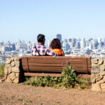 Bernal Hills Bernal heights dogs parks hiking family San Francisco panorama city skyline view
