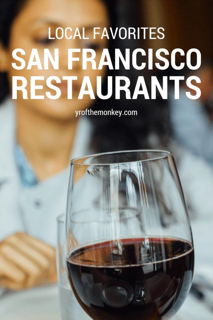 San Francisco dining restaurants local food lunch dinner brunch