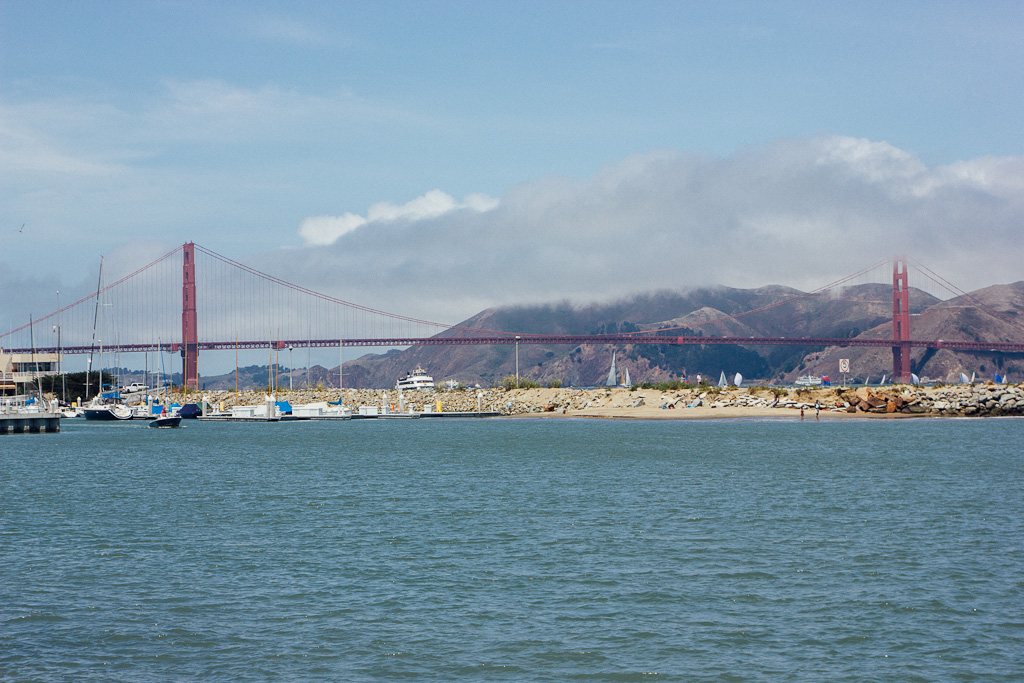 Marina neighborhood is one of the most romantic spots in San Francisco