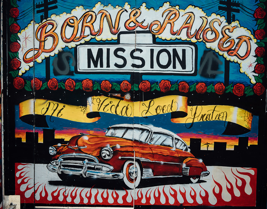 Explore the murals in Mission district