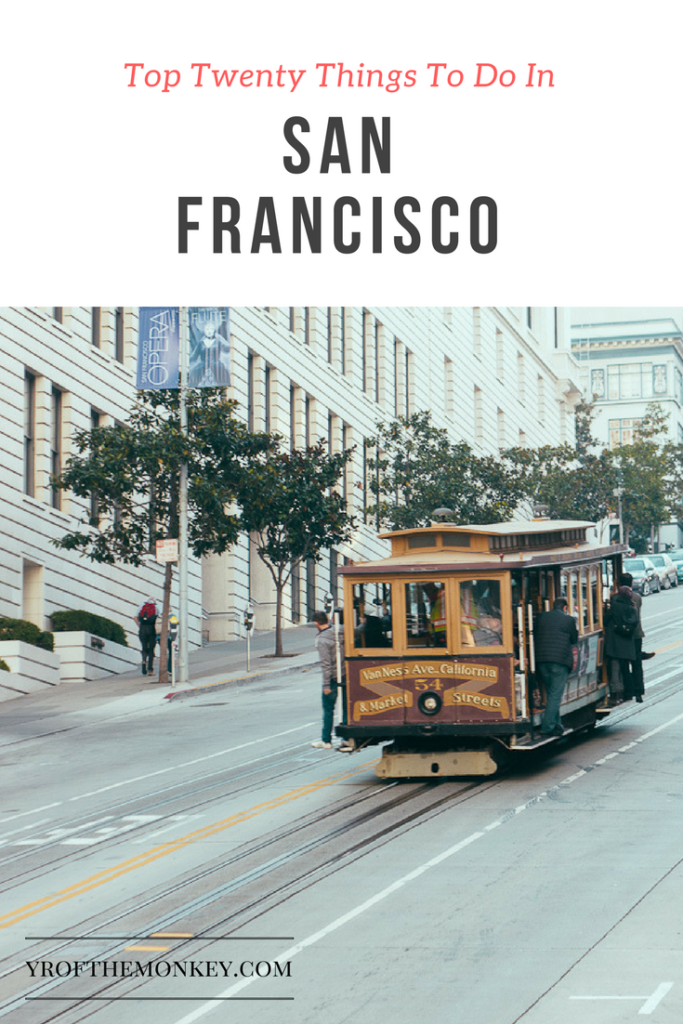This is a local's guide to Top twenty things to do in San Francisco, California. Includes major attractions and local secret spots! Pin this to your California or USA board now! #likealocal #sanfrancisco #USA #California #NorthAmerica