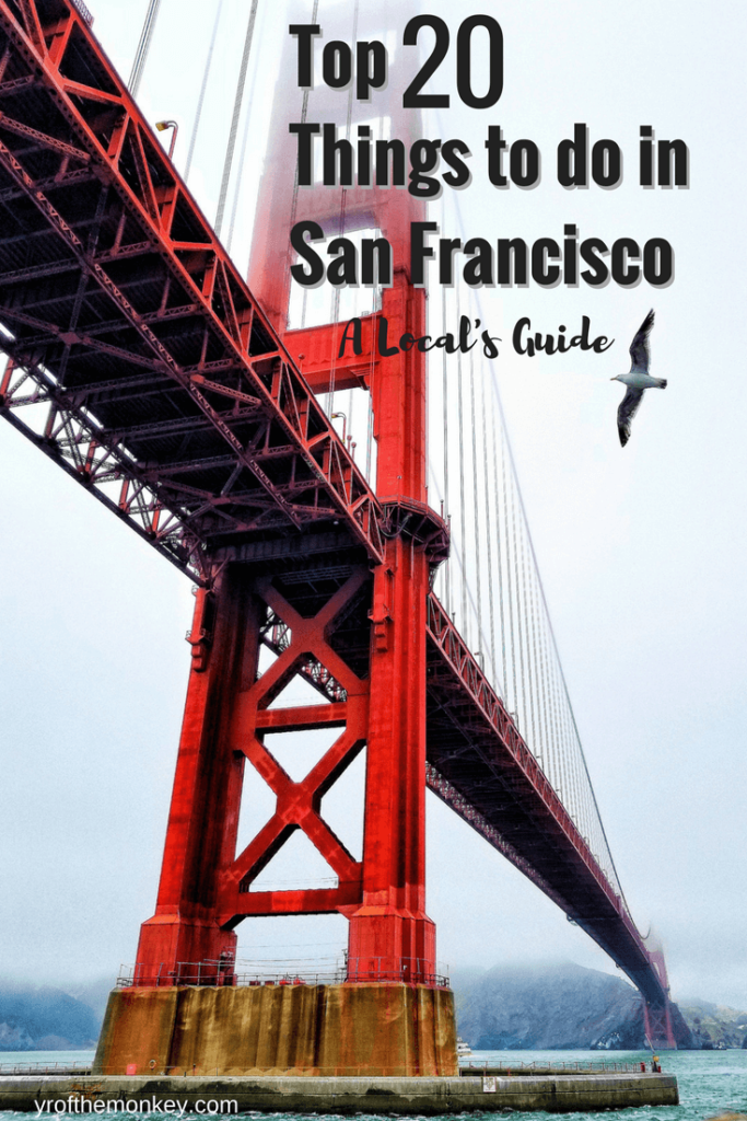Top twenty Things to do in San Francisco, California, USA is the only and the ultimate San Francisco guide that you will EVER need to travel and explore fog city. Pin this compilation of unmissable things to do to your USA or California board. Photo by Robert Trombetta on Unsplash. #California #Sanfrancisco #USA #likealocal #northAmerica