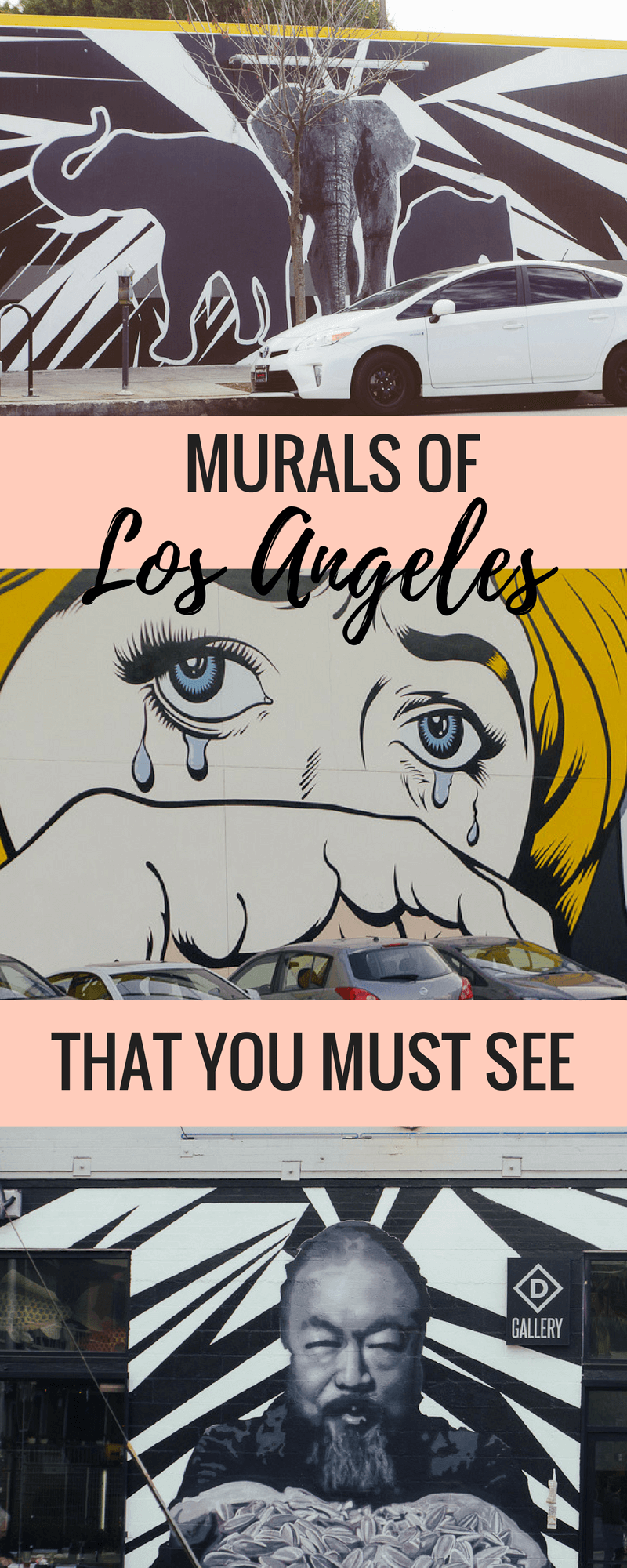 Los angeles Mural guide is the best DTLA and Abbot Kinney street art guide for Los Angeles, California, USA. Includes a self guided tour of downtown Los Angeles murals, graffiti and street art. #California #Streetart #murals #losangeles #graffiti #DTLA