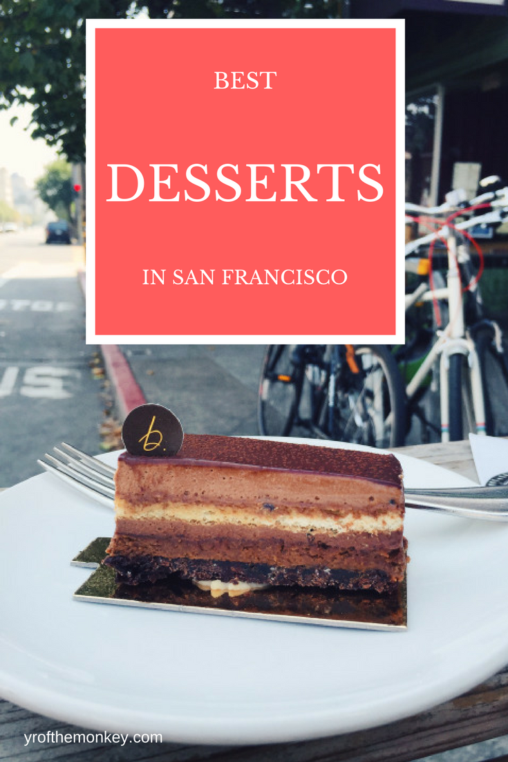 This is a resident foodie's guide to some of the best desserts in San Francisco that you will ever taste! So if you have a sweet tooth, read this post to satisfy your cravings for sweet treats in San Francisco , California and find some of the best bakeries, patisseries and instagram worthy hot spots that warrant repeat visits! Pin this to your foodie or California board now! #sanfrancisco #foodieguide #california #usa #desserts #sweettooth #foodie