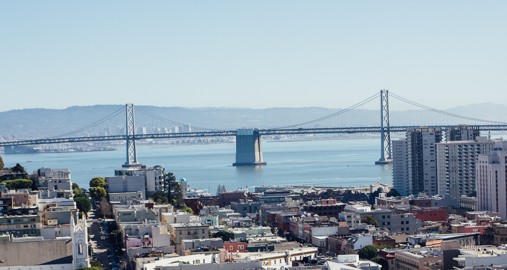 Ina Coolbrith Park offers some of the most panoramic views in San Francisco