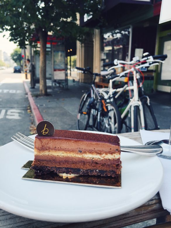 VSCO cam B patisserie pastry french Belinda leung San francisco Cafe sandwich tartine California lower pacific heights