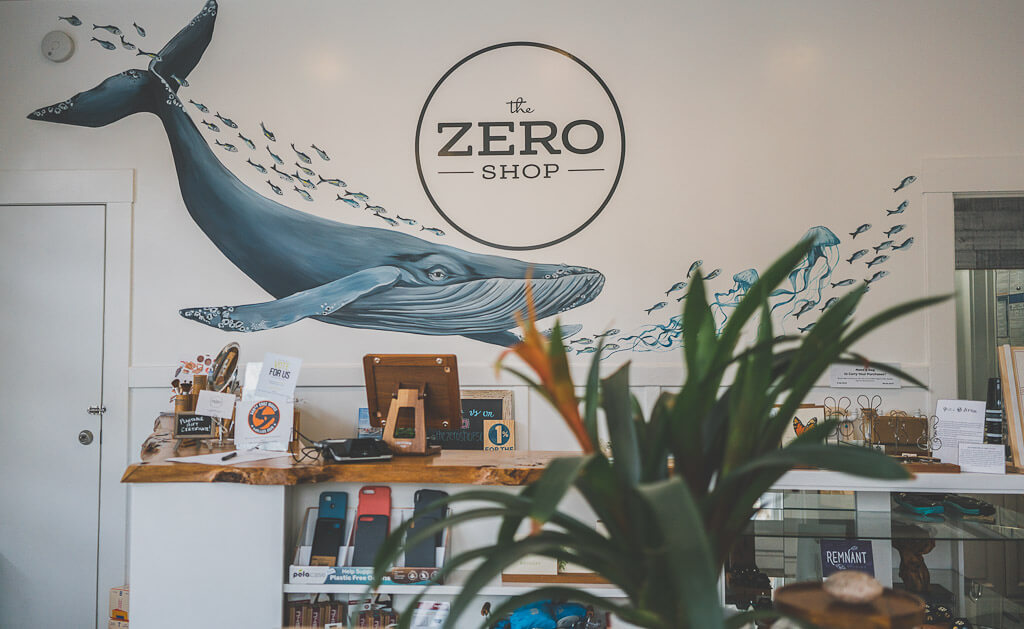 The Zero Shop in Capitola is dog friendly