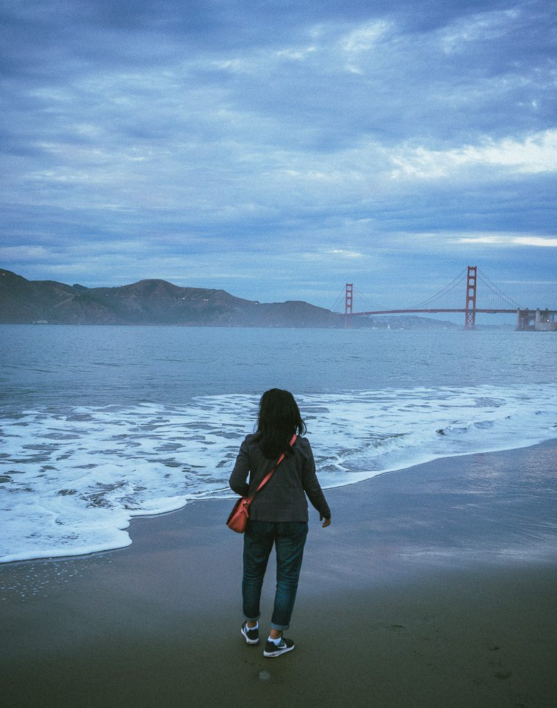 China Beach in San Francisco