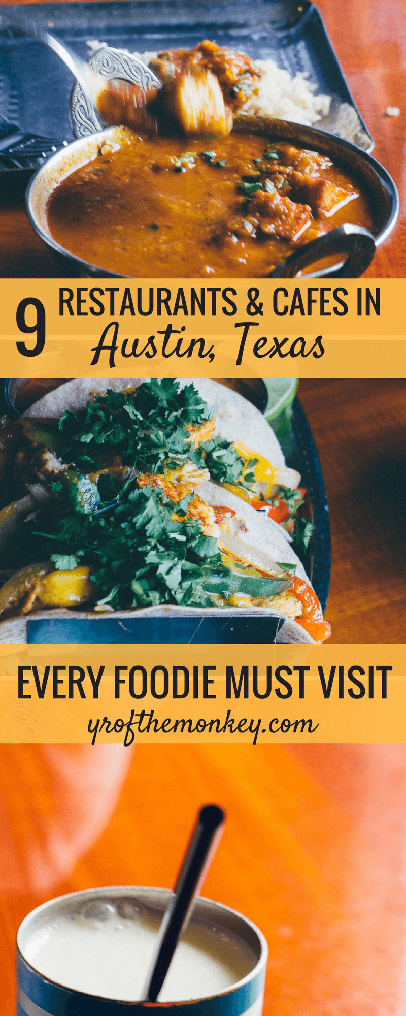 This is an alternate Austin Texas USA dining guide which goes beyond the barbecue and showcases 9 diverse and best restaurants in Austin. This Austin food guide includes vegetarian and ethnic options and tells you where to eat in Austin for breakfast, lunch and dinner. Don't miss reading this culinary Austin guide if you are a foodie. Pin it to your USA board for a lipsmacking food tour!