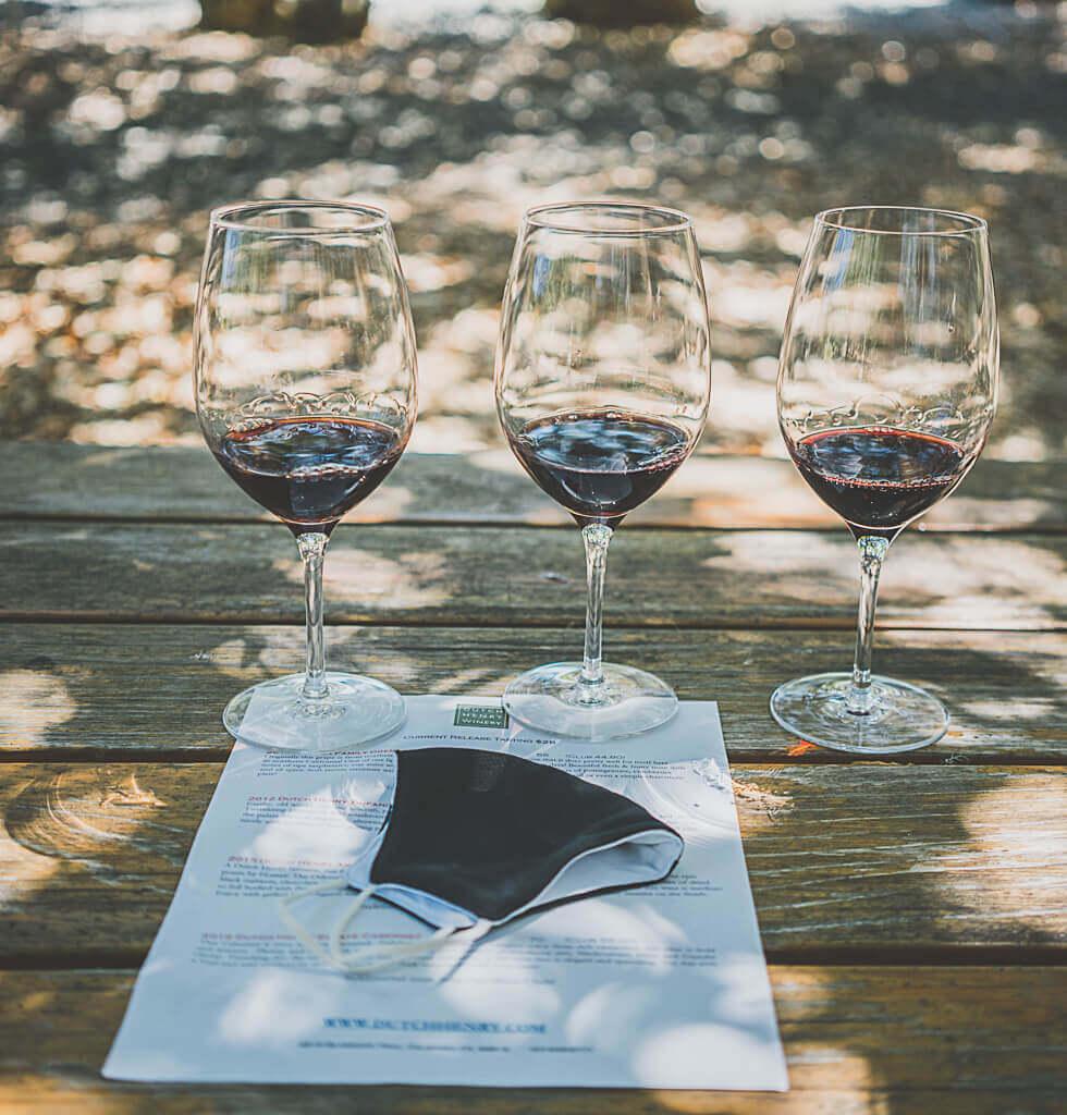Dutch henry winery, dog friendly Napa winery, Calistoga wine tasting