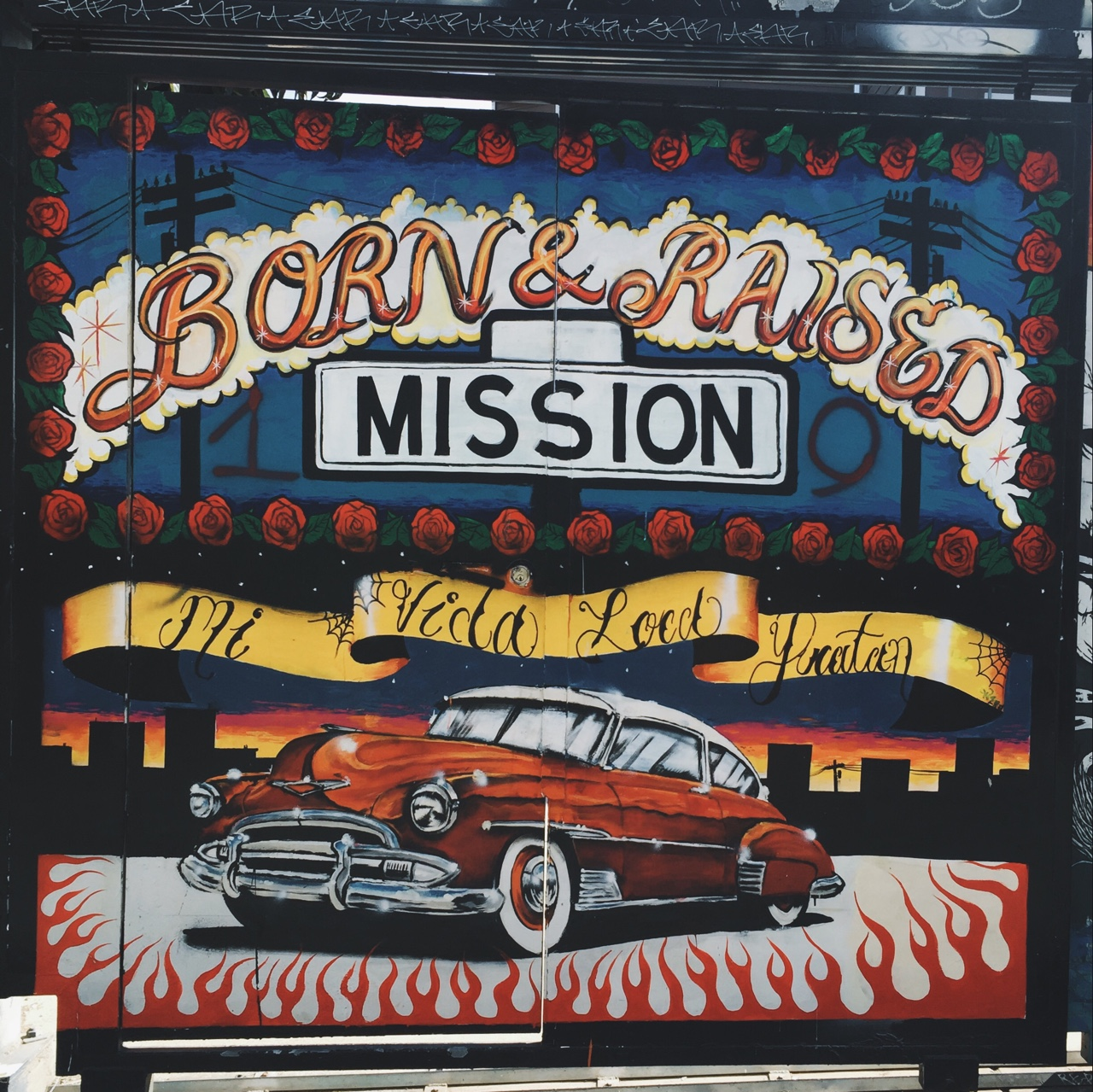 See the famous murals in San Francisco's mission district