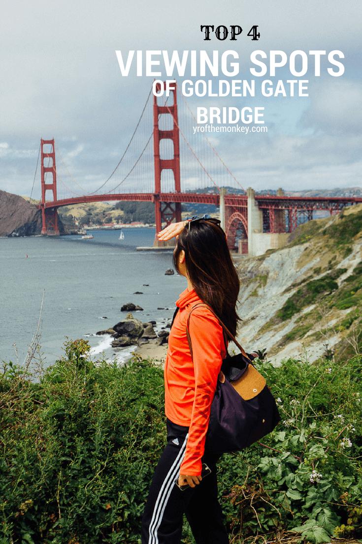Best view of Golden gatebridge San Francisco California Bay area travel