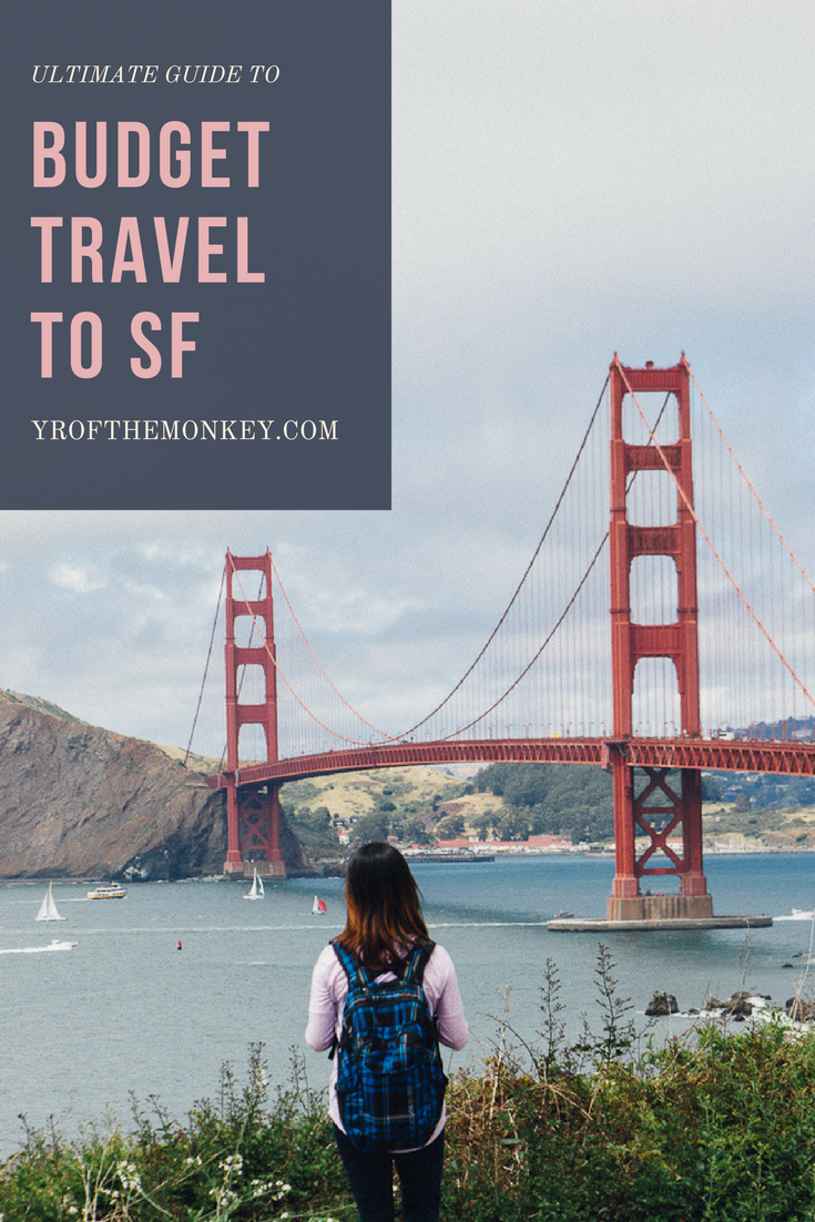fun cheap free budget travel San Francisco