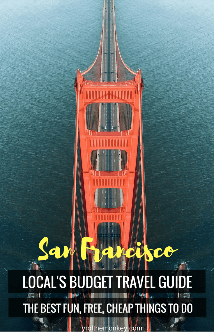 Looking for traveling to San Francisco,California, USA on a budget? Look no further than this local's exclusive guide to all fun,free and cheap things that you can do in the city.Having lived here for 7+ years, I bring you this exclusive guide to enjoying San Francisco without breaking the bank! This is the only budget travel guide that you will ever need! #sanfrancisco #california #budgettravel #USA #America