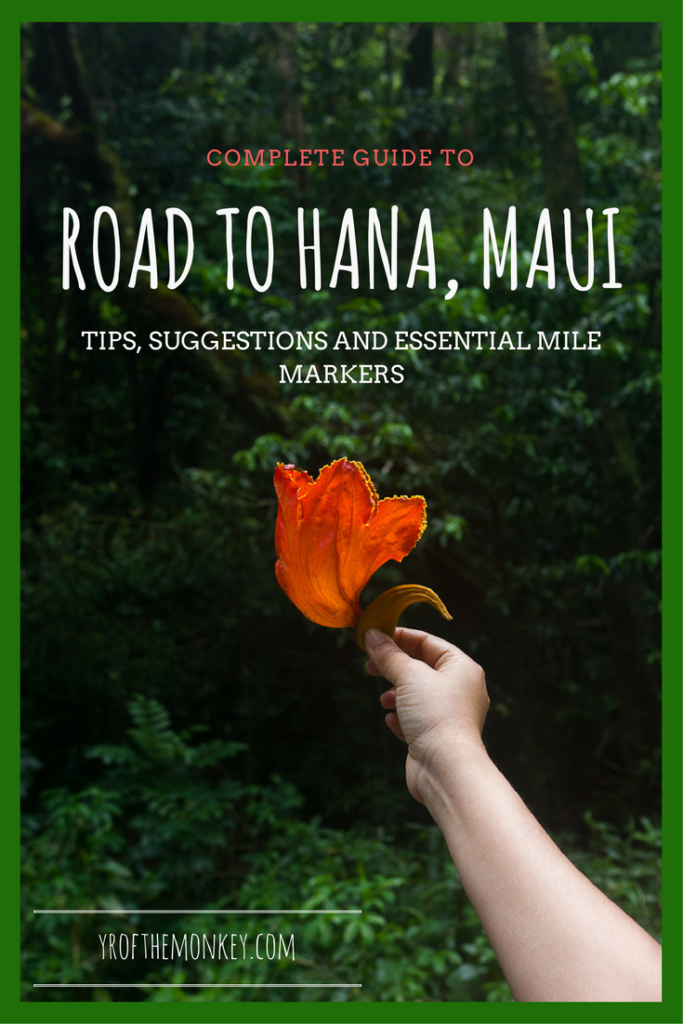 Road to Hana Mile Markers is the complete Road to Hana guide in Maui , Hawaii. This includes the list of 15 must see Road to Hana stops and suggestions on an awesome budget Hana hotel. Pin this Road to Hana itinerary to your Hawaii, USA board now! #hawaii #roadtohana #roadtrip