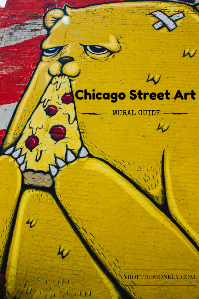 Chicago street art I Chicago USA travel I Murals of Chicago I Street artI Murals I Public art I Best neighborhoods in Chicago with the coolest murals I public art IWicker park murals I Pilsen muralsI #chicago #USA #streetart #murals
