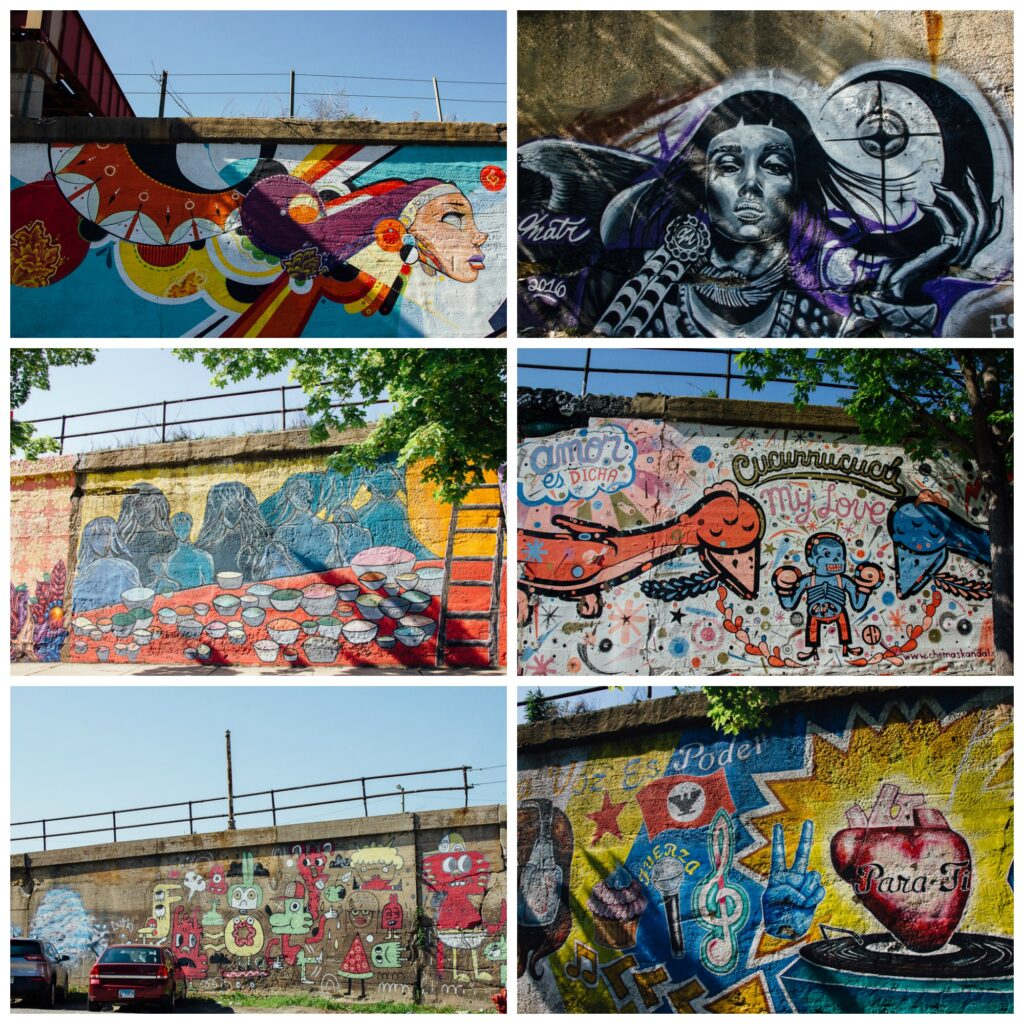 Chicago street art Murals Pilsen