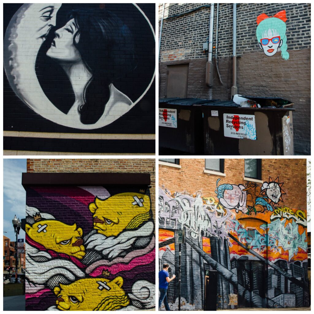 Chicago street art Murals Wicker Park