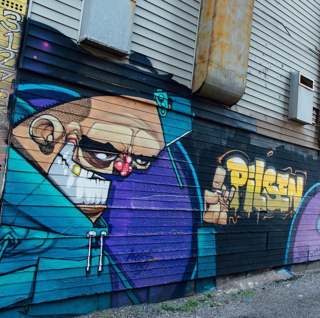 Murals of Pilsen are some of the best street art in Chicago
