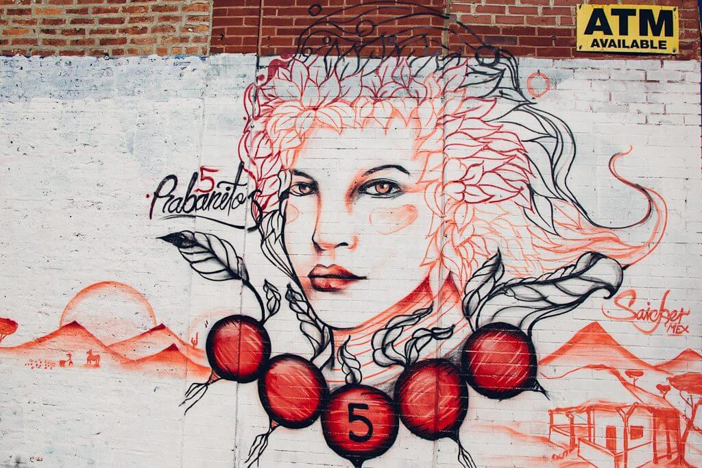 Pilsen neighborhood murals