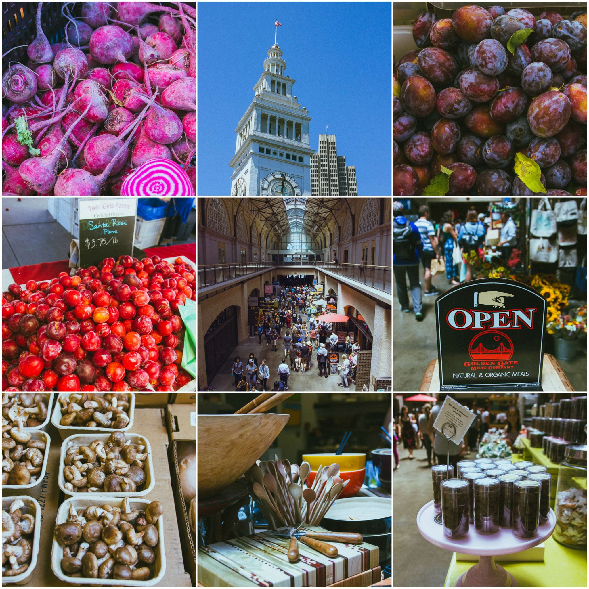 Foodie experiences in San Francisco, Ferry Building farmers market