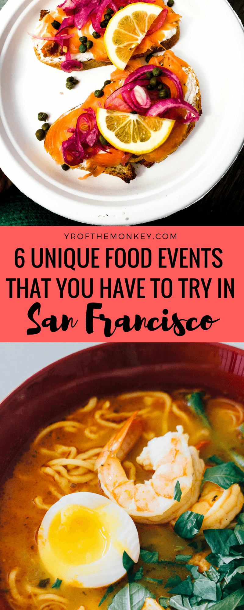Unique eats San Francisco is your guide to 6 unique food events in the city which goes beyond SF restaurant reservations. A resident foodie's guide, this post is about San Francisco alternate dining with food tours, social dining, farmers markets, food halls, food courts pop-up restaurants and social dining startups. SF dining, San Francisco restaurants, best food San Francisco, must eat San Francisco, California , USA, Where to eat in San Francisco