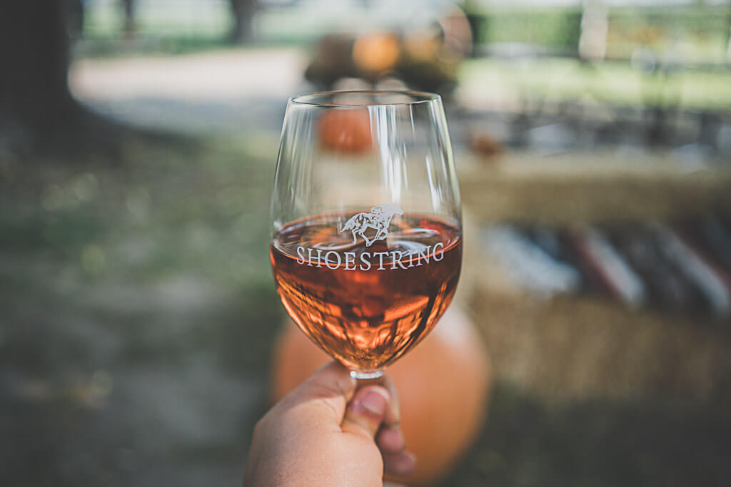 Dog friendly winery in Solvang, Shoestring winery