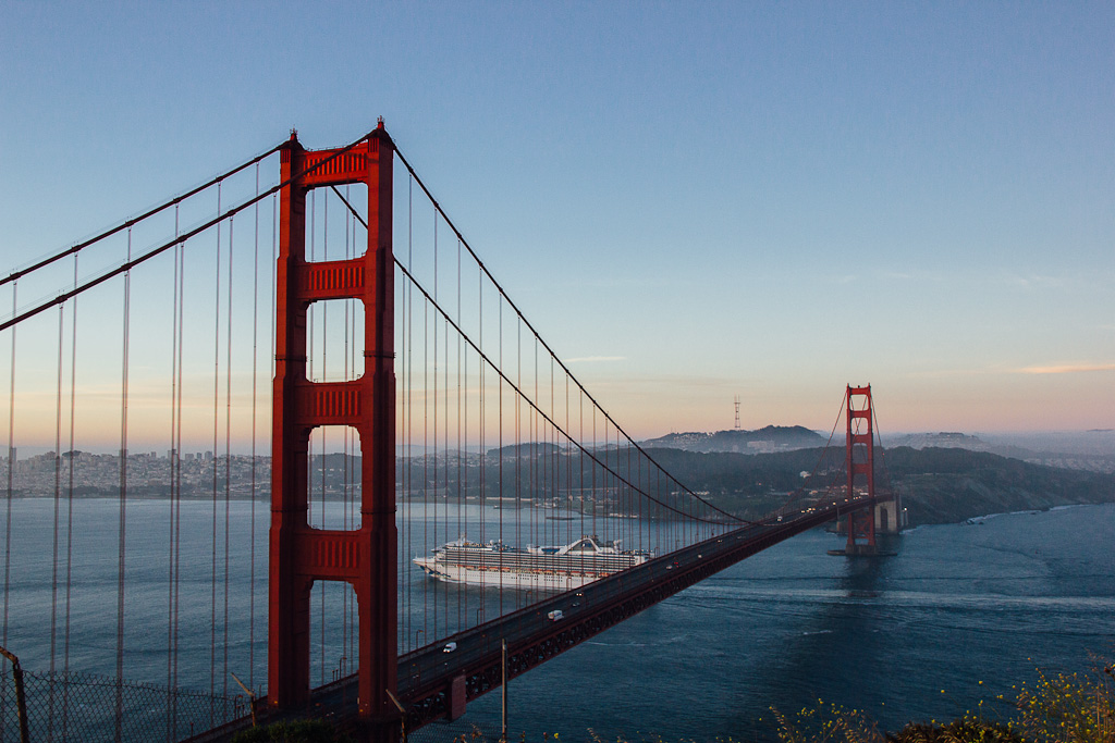 San Francisco can be covered as a day trip from Sacramento