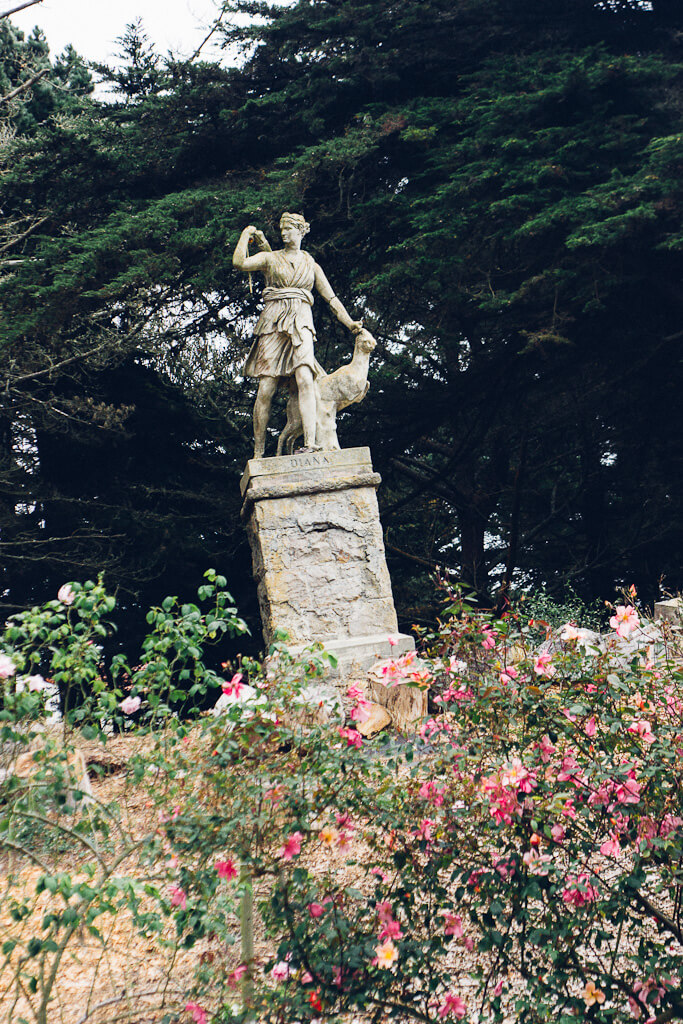 Diana the Huntress in San Francisco: a lesser known photo spot in the city