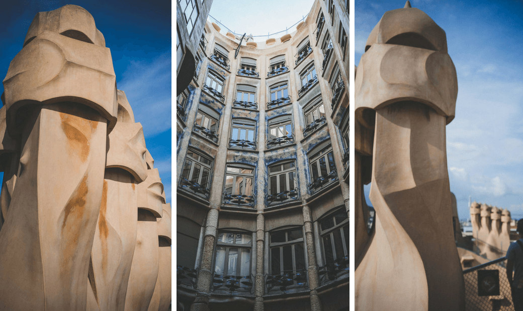 Self guided Barcelona Gaudí tour, Gaudi walking tour, Gaudi's works in Barcelona, Gaudi architecture tour, Antoni Gaudi, Modernism architecture, Barcelona's famous buildings, three days in Barcelona, what to do in Barcelona in three days