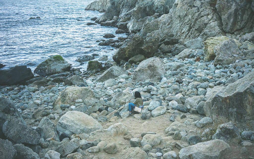 Partington cove in Big Sur as part of essential big Sur road trip stops