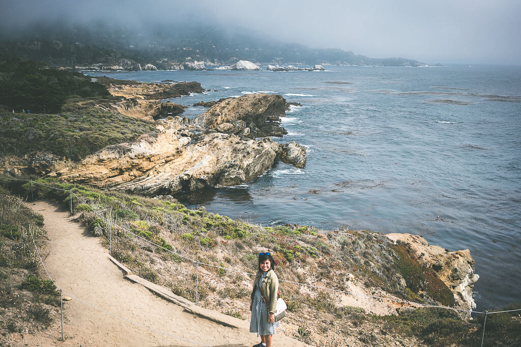 Point Lobos Natural State reserve is on highway 1 on your way to Big Sur and a must visit on your Big sur road trip