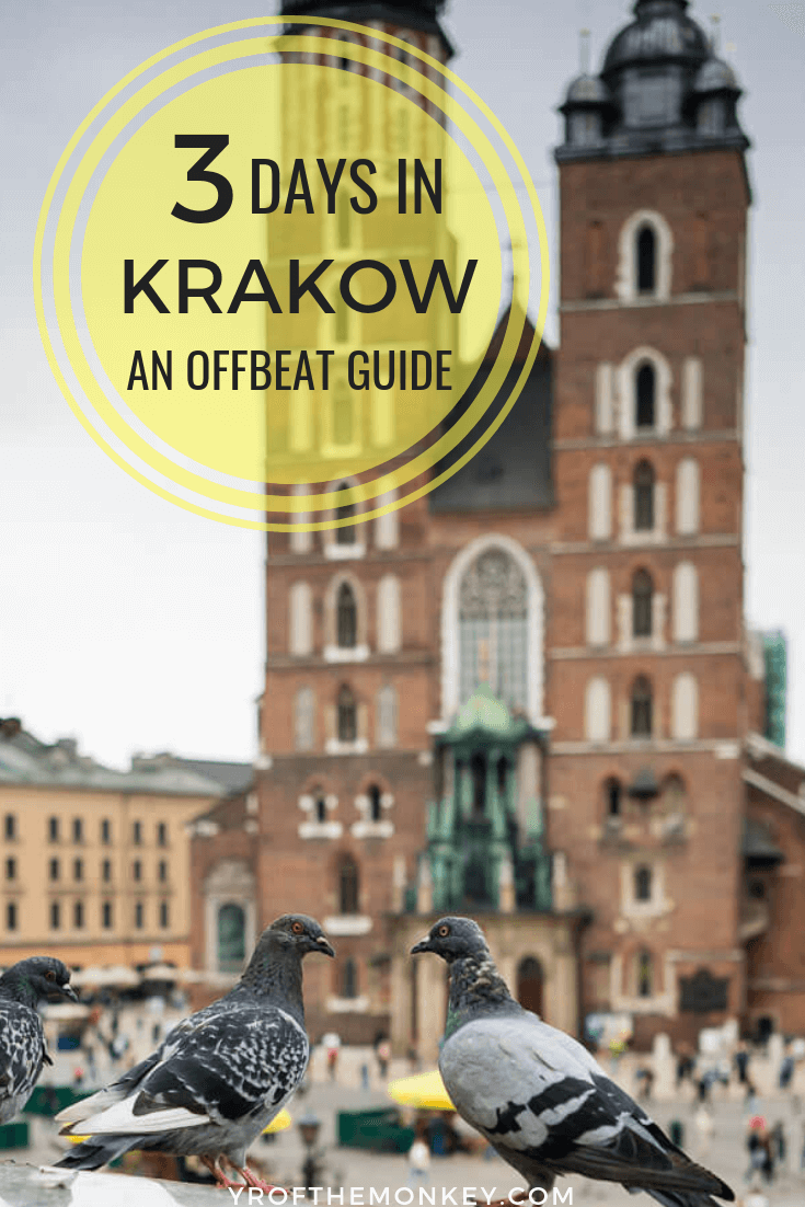 Looking for offbeat, less touristy, hidden gems in Krakow, Poland? Then do read this offbeat guide to 3 days in Krakow with details on where to find off kilter gems in dining, attractions, sightseeing, art and a crazy, fun offbeat day tour. Pin it to your Europe board now! #Krakow #Poland #Europe #easternEurope