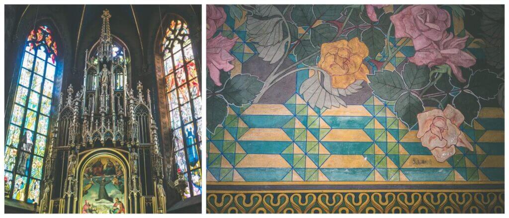 St Francis Basilica, Krakow, Poland. How to spend three days in Krakow
