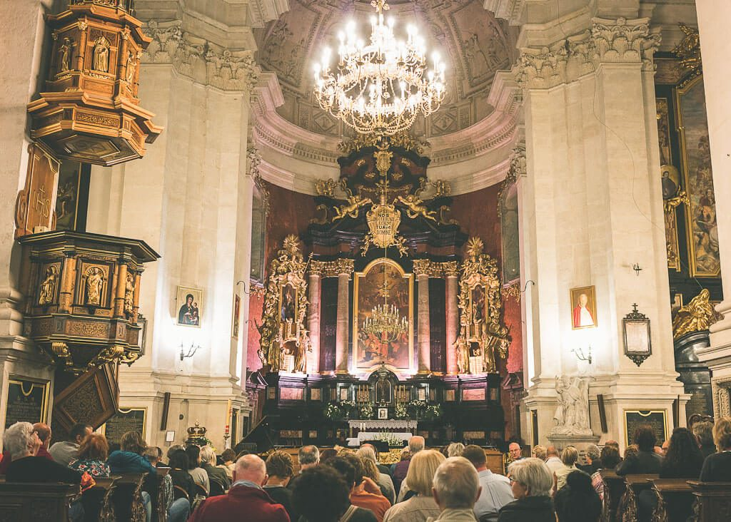 offbeat guide to 3 days in Krakow: go to a concert in a church