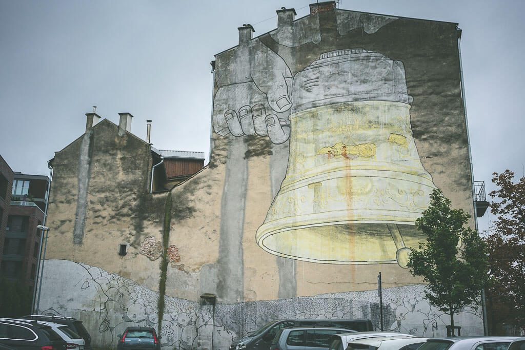 Murals in Podgorze, Krakow. Offbeat guide to 3 days in Krakow, Poland