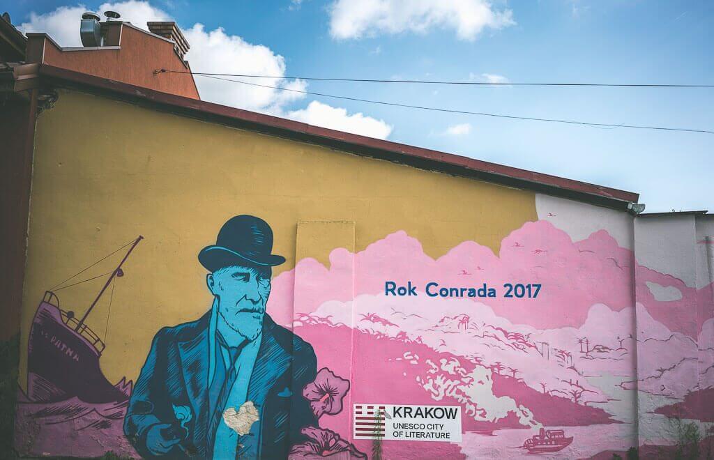 three days in Krakow, offbeat guide to Krakow, murals of krakow