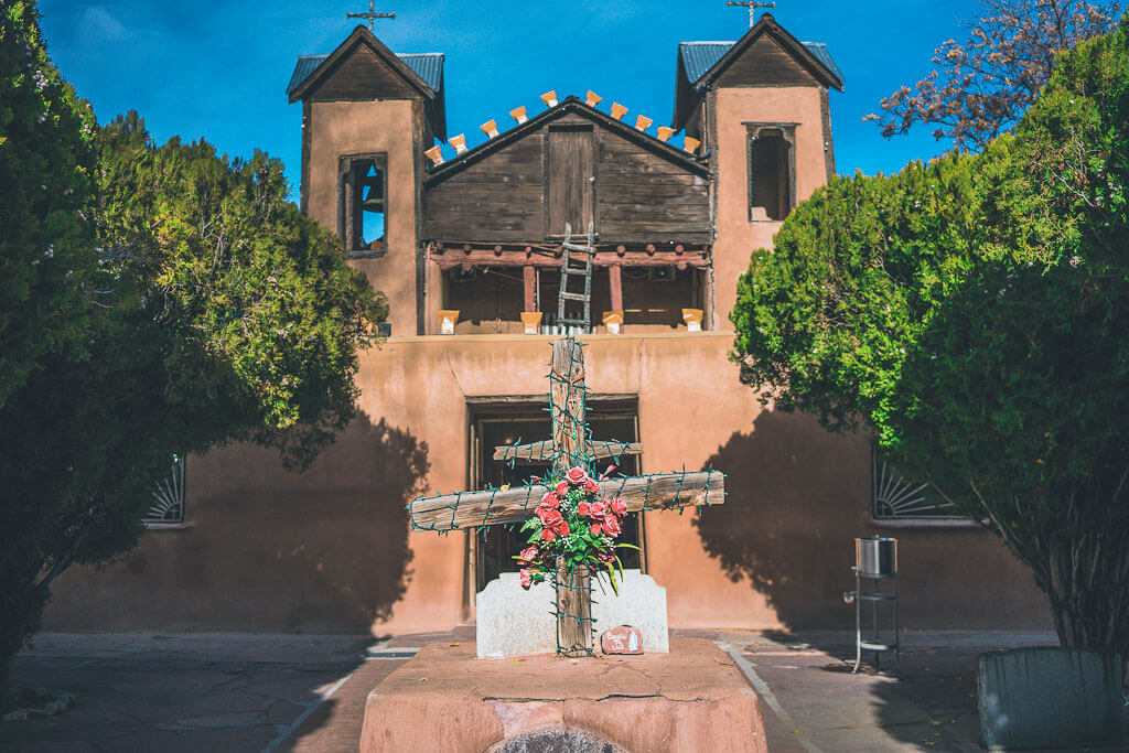 Santuario de Chimayo, Highroad from Santa Fe to Taos, Chimayo, New mexico