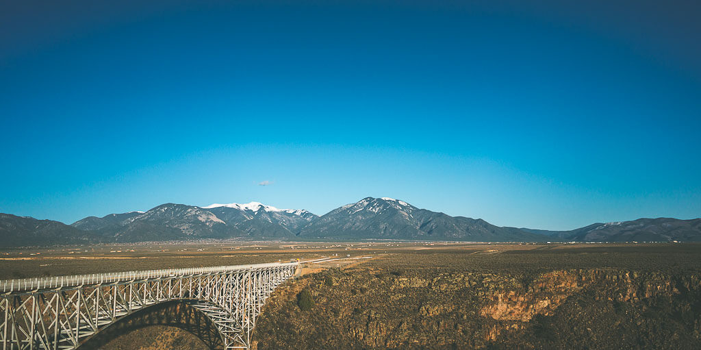 Santa Fe to Taos, Low Road from Santa Fe to Taos, Scenic drive, Rio Grande River, Rio Grande Gorge Park, Gorge bridge