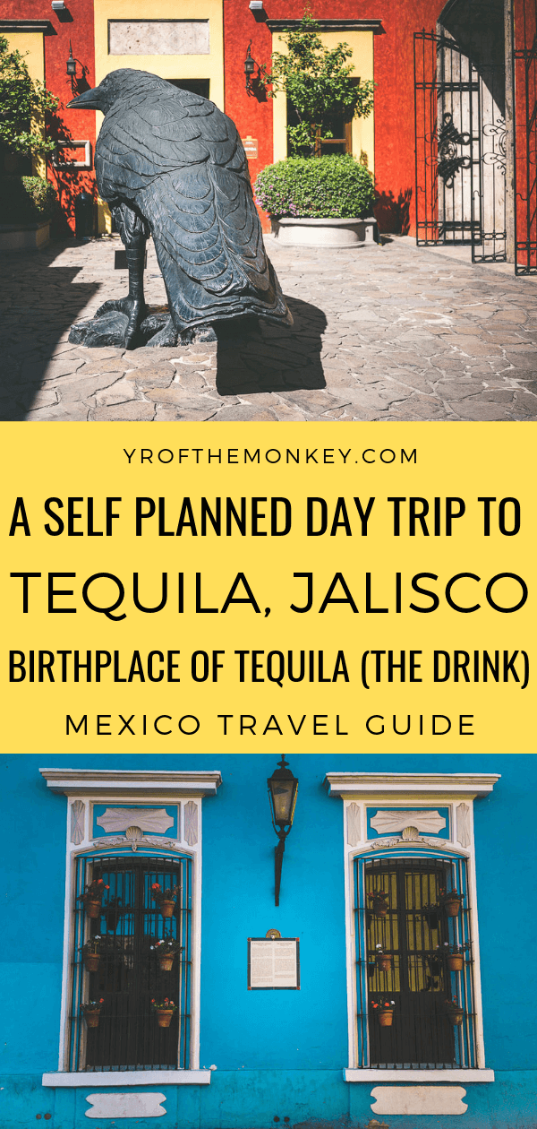 Looking for an impromptu day trip from Guadalajara to Tequila without a conducted tour? Then read this post on a day trip to Tequila, Mexico with details on the best attractions and a tequila tasting tour at the oldest distillery in Jalisco. Pin this to your Mexico board now! #tequila #jalisco #Mexico #centralamerica #daytrip #tequilatasting #tequilatour