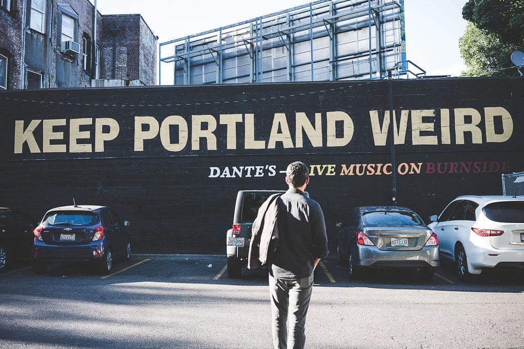 Portland is a very dog friendly city on the west coast