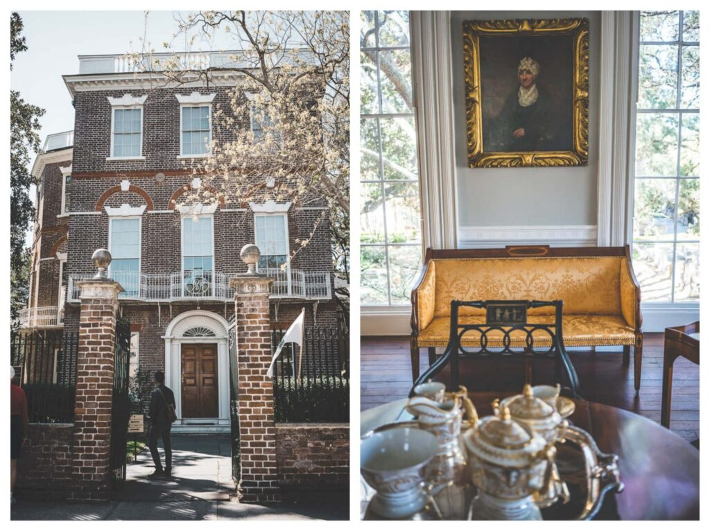 See the Nathaniel Russell house in Charleston, Historic homes in Charleston, Plantation owner homes