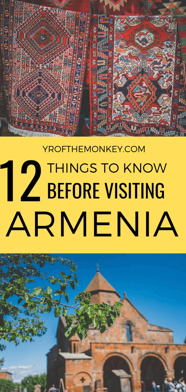 Curious about visiting Armenia but don't know where to start? Let this post filled with super helpful Armenia travel tips, links and resources help you plan your perfect itinerary to visit this underrated country in Eurasia known for its breathtaking natural wonders, heritage landmarks, arts food and wine. Pin this to your Asia travel board now! #Armenia #traveltips #southcaucasus #Eurasia #Asia #visitarmenia