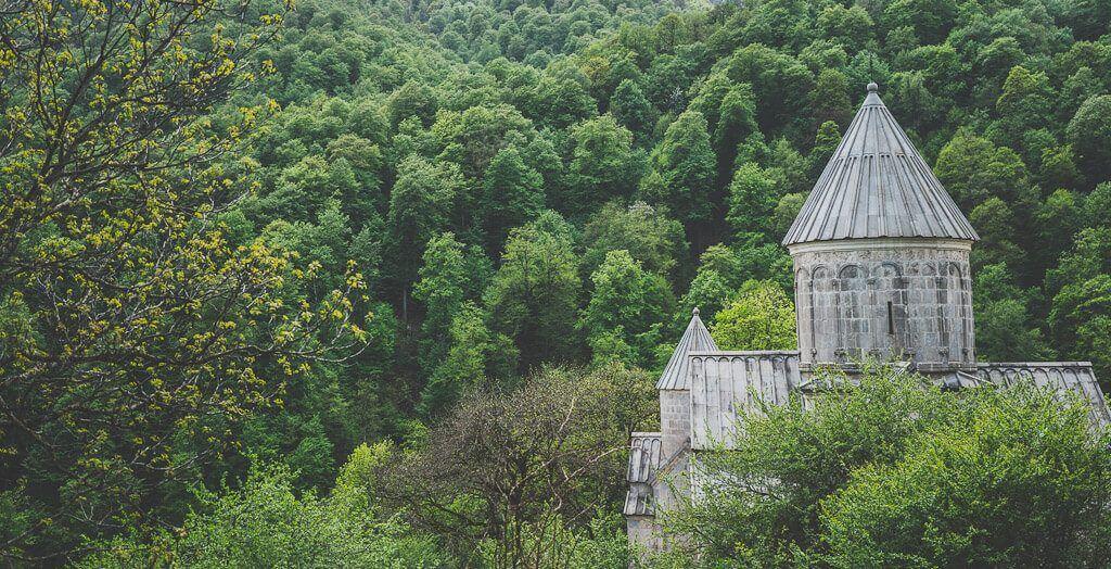 Haghartsin monastery in Dilijan