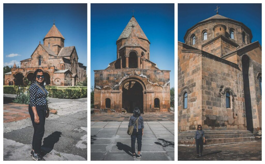 Etchmiadzin has a number of monasteries and cathedrals to visit and is excellent for a Yerevan day trip