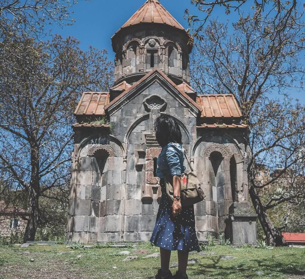 Day trip from yerevan Armenia itinerary, Garni church