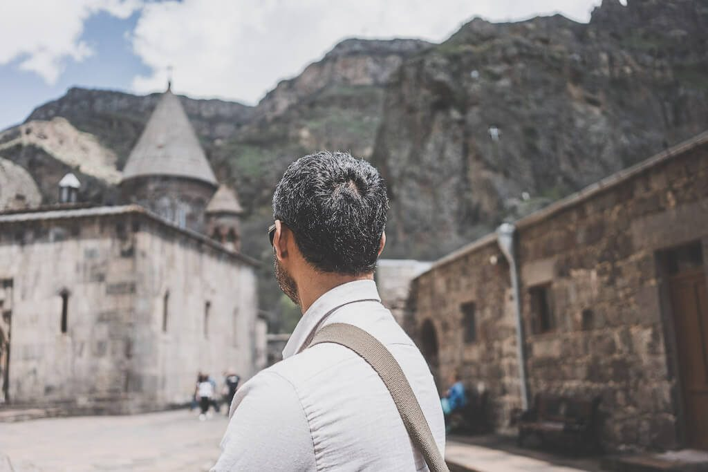 Geghard monastery is another easy Yerevan day trip