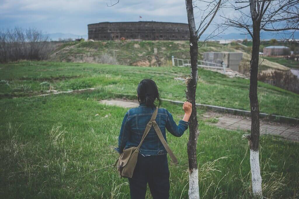 Black fortress in Gyumri, Sev Berd