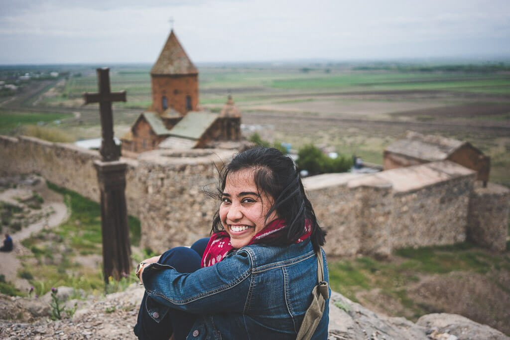 Day trips from Yerevan, Armenia itinerary attractions, Khor Virap monastery